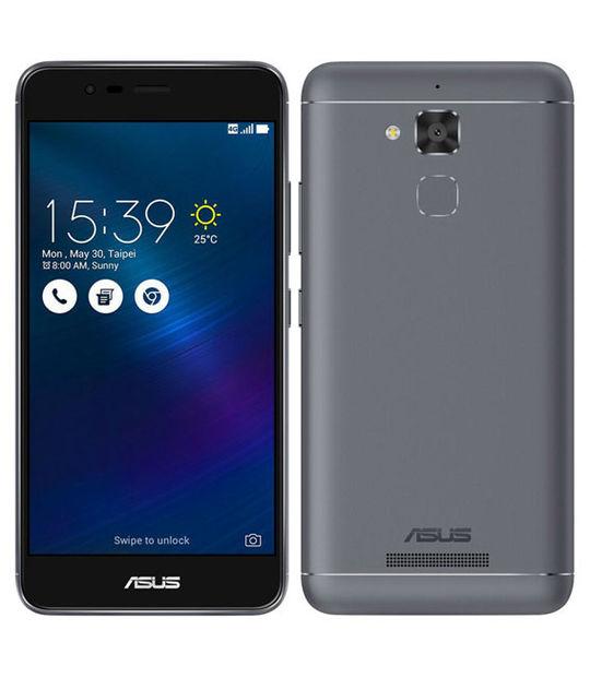 【中古】【安心保証】 SIMフリー ZenFone3Max ZC520TL[16GB] グレー