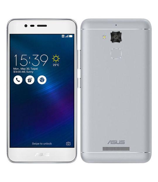 【中古】【安心保証】 SIMフリー ZenFone3Max ZC520TL[16GB] シルバー