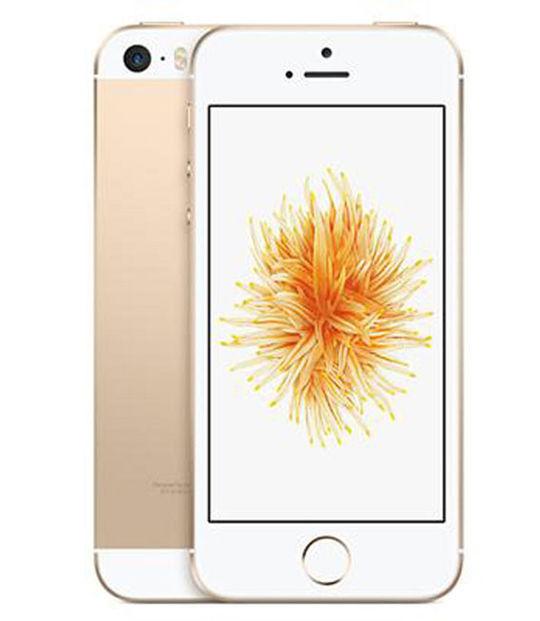 【中古】【安心保証】 SIMフリー iPhoneSE[16GB] ゴールド
