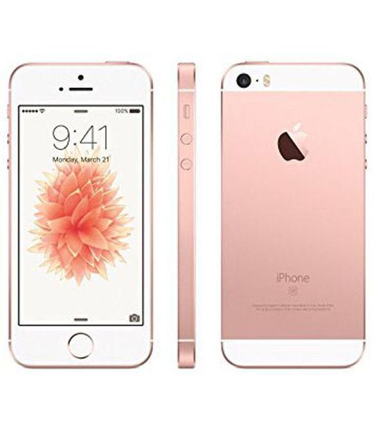 【中古】【安心保証】 SoftBank iPhoneSE[64G] ローズゴールド