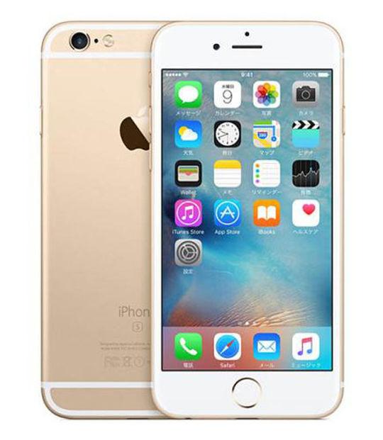 【中古】【安心保証】 SIMフリー iPhone6s 32GB ゴールド