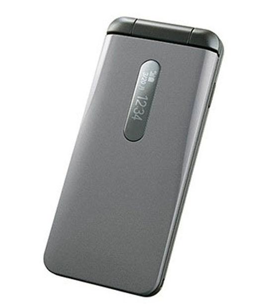 【中古】【安心保証】 UQモバイル DIGNO Phone グレイ