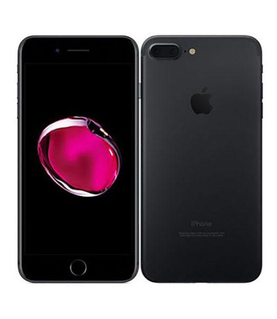 【中古】【安心保証】 SoftBank iPhone7Plus[32G] ブラック