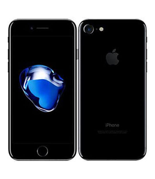 【中古】【安心保証】 docomo iPhone7[128GB] ジェットブラック