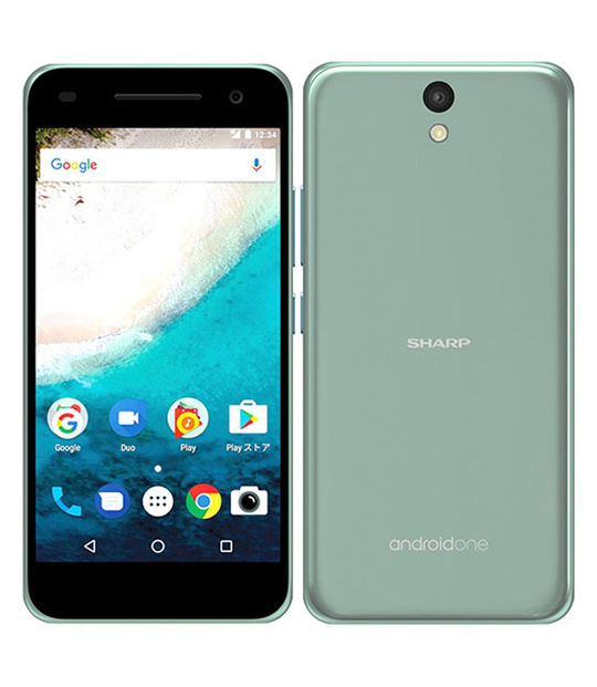 【中古】【安心保証】 Y!mobile Android One S1 ターコイズ