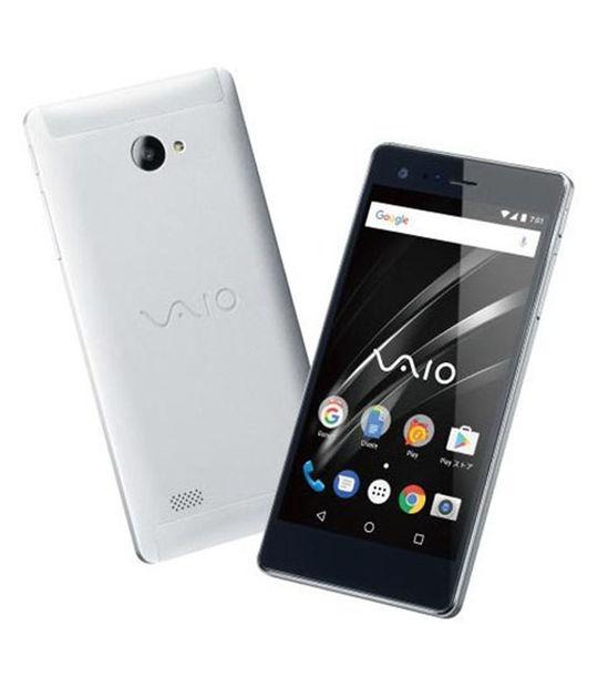 【中古】【安心保証】 SIMフリー VAIOPhoneA[16GB] シルバ-