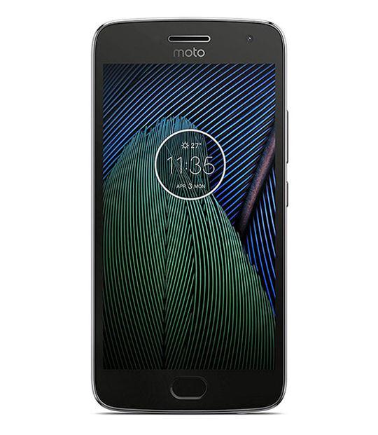 【中古】【安心保証】 SIMフリー MotoG5Plus[32G] ルナグレー