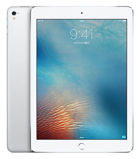 【中古】【安心保証】 SoftBank 9.7iPad 5[セルラー128G] シルバー