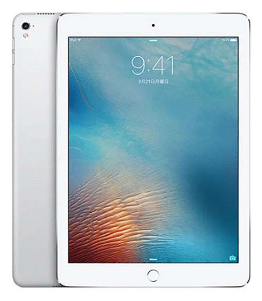 【中古】【安心保証】 SoftBank 9.7iPad 5[セルラー32G] シルバー