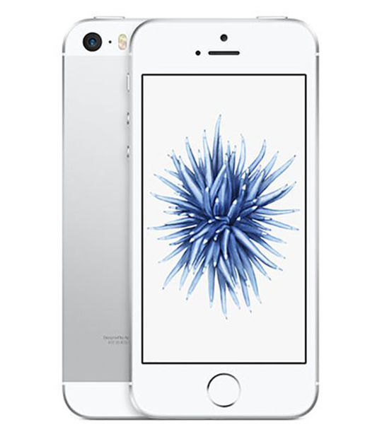【中古】【安心保証】 docomo iPhoneSE[32G] シルバー