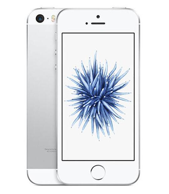 【中古】【安心保証】 SIMフリー iPhoneSE[32G] シルバー