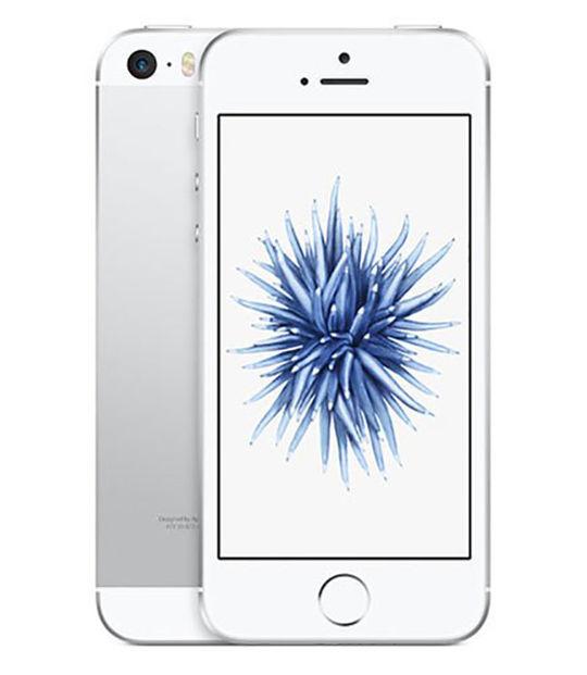 【中古】【安心保証】 UQモバイル iPhoneSE[32G] シルバー