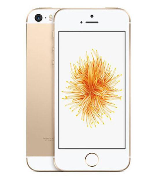 【中古】【安心保証】 iPhoneSE[UQ32GB] ゴールド
