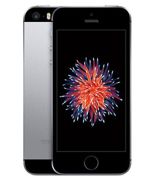 【中古】【安心保証】 au iPhoneSE[32G] スペースグレイ SIMロック解除済