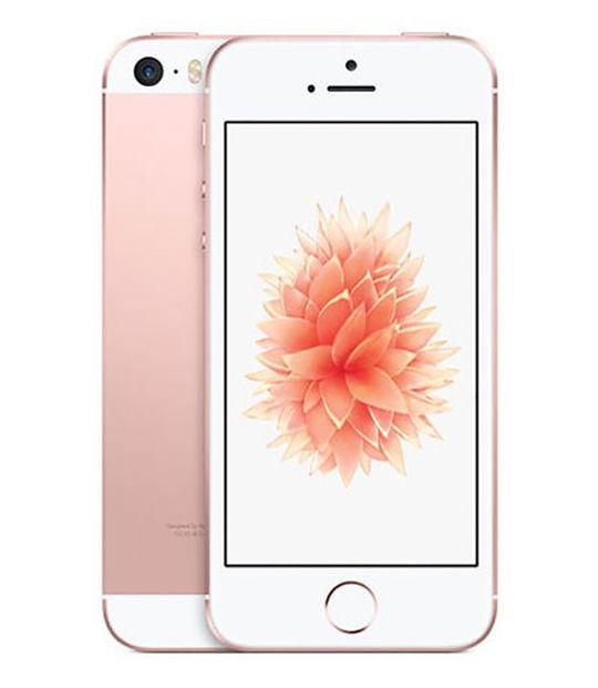 【中古】【安心保証】 SoftBank iPhoneSE[128G] ローズゴールド