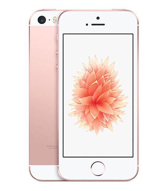 【中古】【安心保証】 SIMフリー iPhoneSE[128G] ローズゴールド