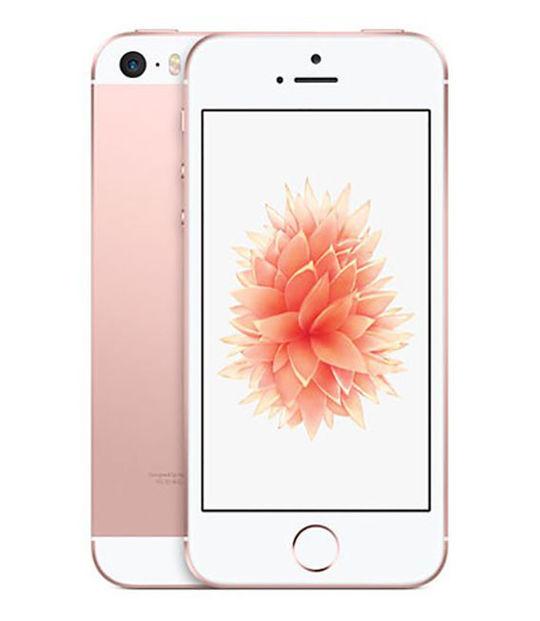 【中古】【安心保証】 Y!mobile iPhoneSE[128GB] ローズゴールド