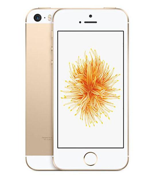 【中古】【安心保証】 SIMフリー iPhoneSE[128G] ゴールド