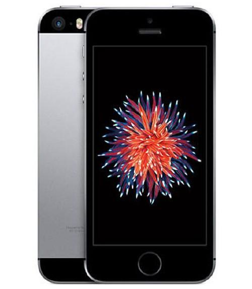 【中古】【安心保証】 UQモバイル iPhoneSE[128G] スペースグレイ