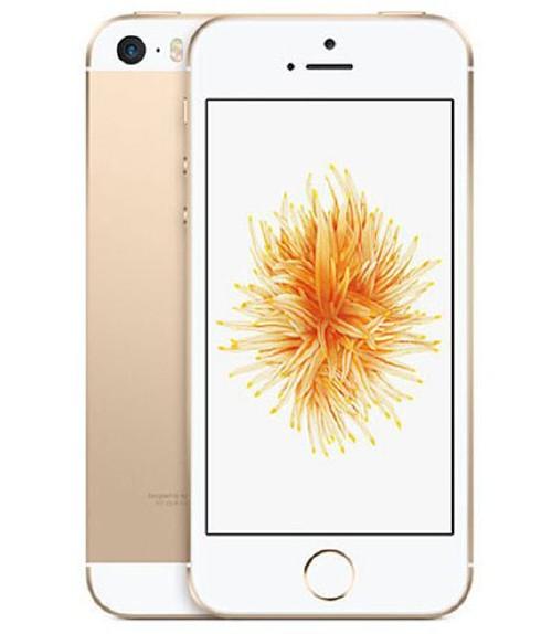 【中古】【安心保証】 UQモバイル iPhoneSE[128G] ゴールド