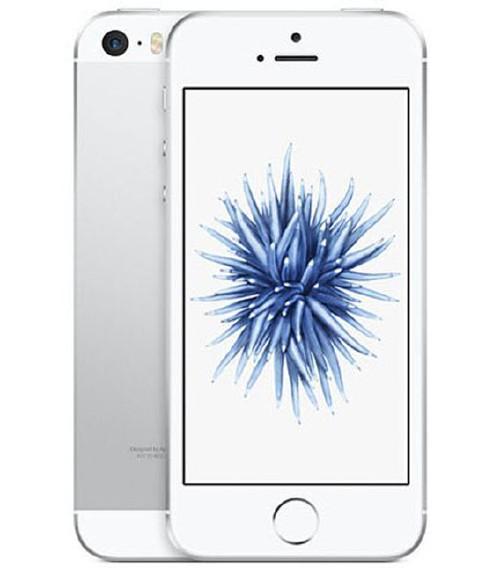【中古】【安心保証】 UQモバイル iPhoneSE[128G] シルバー