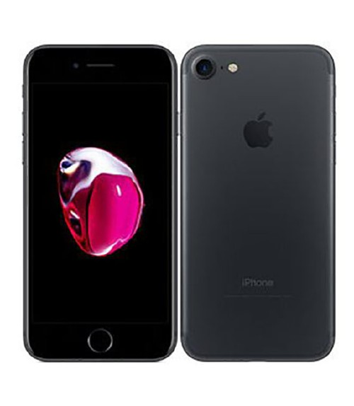 【中古】【安心保証】 SoftBank iPhone7[128G] ブラック