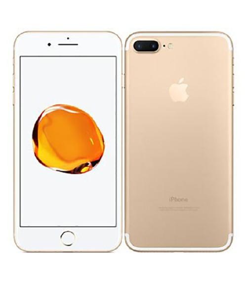 【中古】【安心保証】 au iPhone7Plus 128GB ゴールド SIMロック解除済
