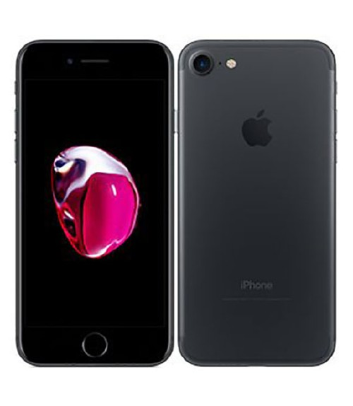 【中古】【安心保証】 SoftBank iPhone7[32G] ブラック