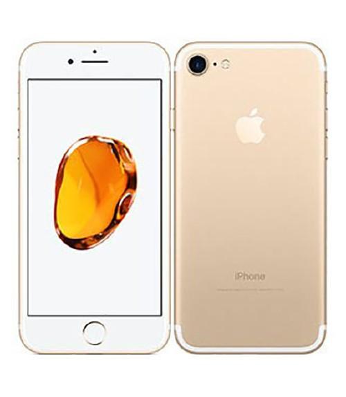 【中古】【安心保証】 SIMフリー iPhone7[128G] ゴールド