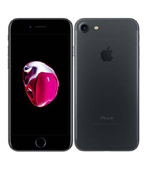 【中古】【安心保証】 SoftBank iPhone7[256G] ブラック