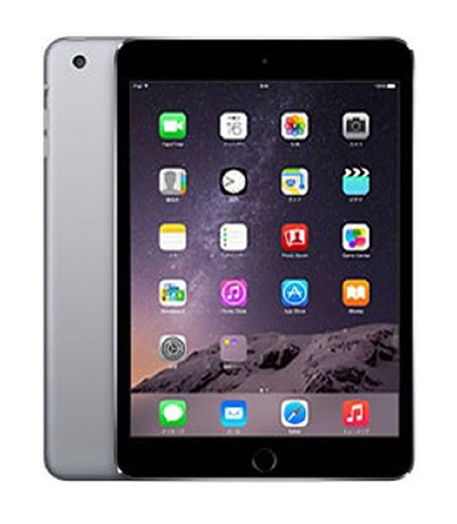 【中古】【安心保証】 iPadmini-7.9_3[64G] グレイ