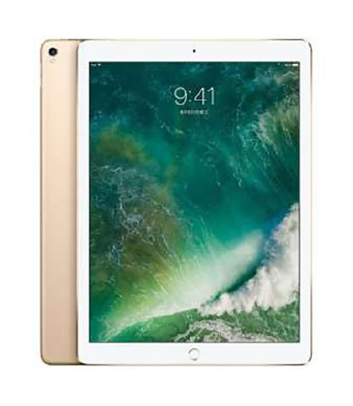 【中古】【安心保証】 docomo iPadPro 2ー12.9[セルラー64G] ゴールド
