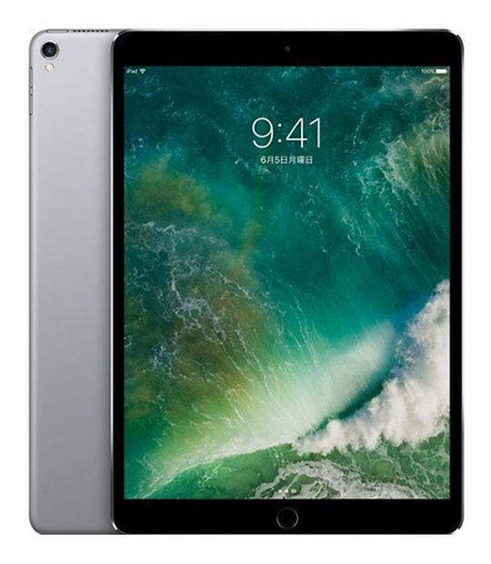 【中古】【安心保証】 docomo iPadPro 2ー10.5[セルラー256G] グレイ