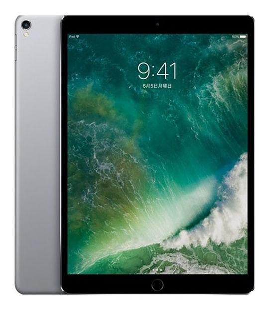 【中古】【安心保証】 au iPadPro 2ー10.5[セルラー256G] グレイ