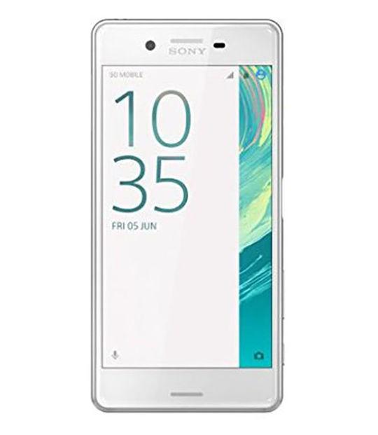 【中古】【安心保証】 SIMフリー XperiaX[海外64GB] ホワイト