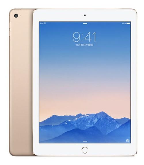 【中古】【安心保証】 iPadAir 2[128G] ゴールド