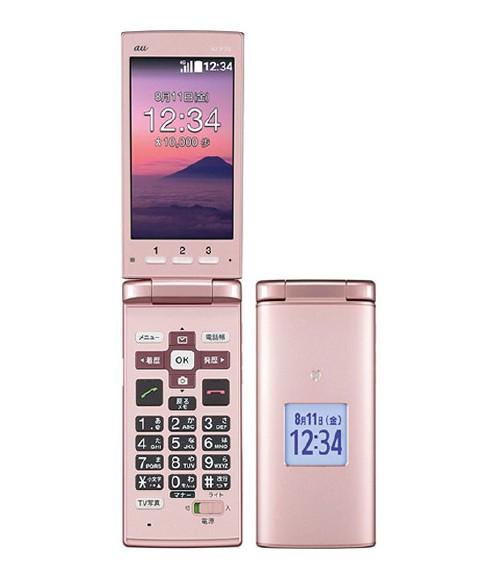 【中古】【安心保証】 au KYF36 ピンク