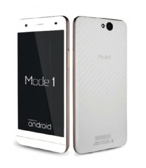 【中古】【安心保証】 SIMフリー Mode1 ホワイトカーボン