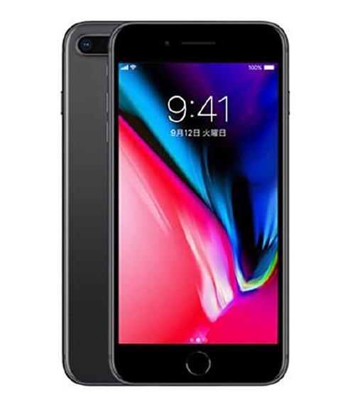 【中古】【安心保証】 SIMフリー iPhone8Plus[256GB] スペースグレイ