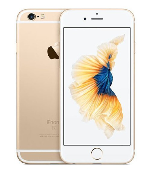 【中古】【安心保証】 UQモバイル iPhone6s[32G] ゴールド