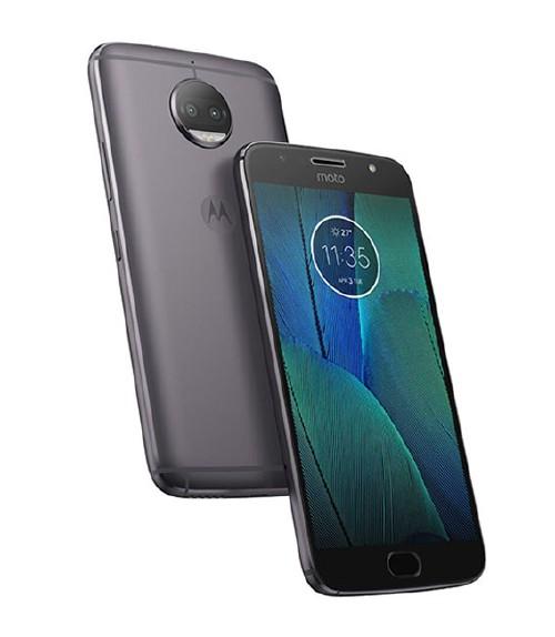 【中古】【安心保証】 SIMフリー MotoG5sPlus[32G] ルナグレー