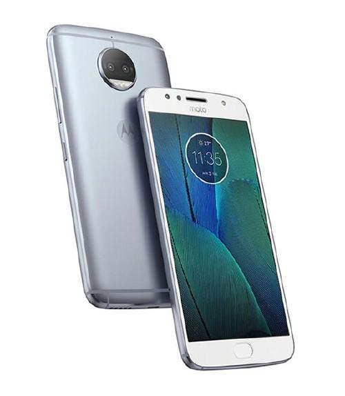 【中古】【安心保証】 SIMフリー MotoG5sPlus[32G] ブルー