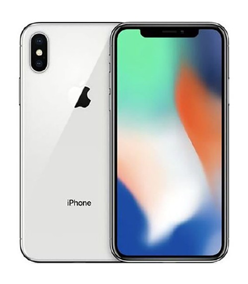 【中古】【安心保証】 SoftBank iPhoneX[64G] シルバー