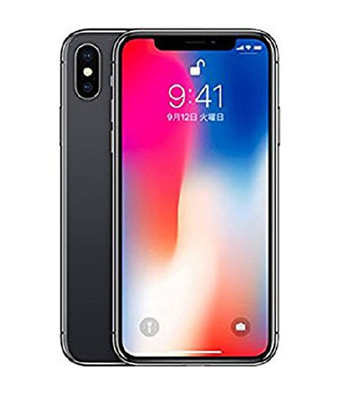 【中古】【安心保証】 SIMフリー iPhoneX[256GB] スペースグレー