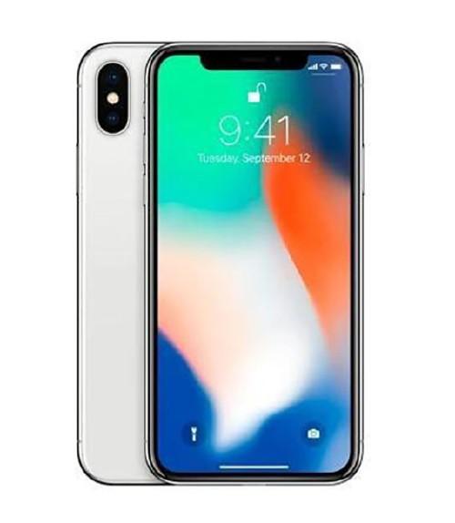 【中古】【安心保証】 docomo iPhoneX[256GB] シルバー