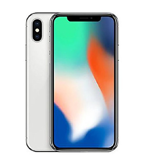 【中古】【安心保証】 au iPhoneX[64GB] シルバー