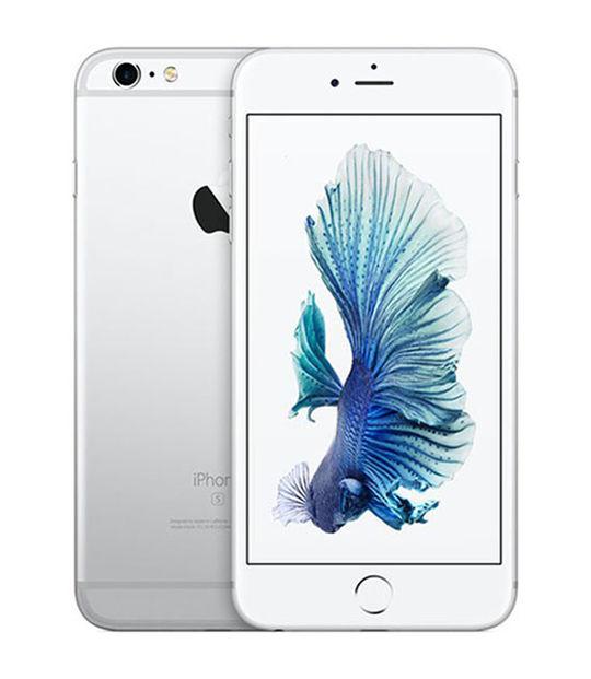 【中古】【安心保証】 SIMフリー iPhone6sPlus[128] シルバー