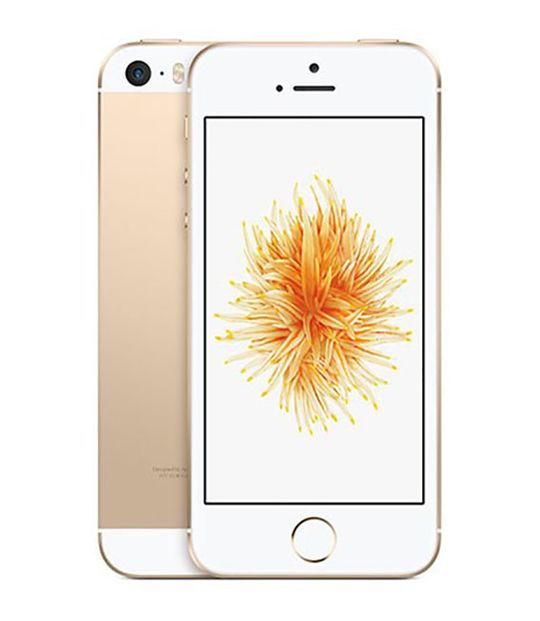 【中古】【安心保証】 SIMフリー iPhoneSE[海外16G] ゴールド