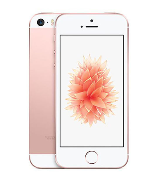 【中古】【安心保証】 SIMフリー iPhoneSE[海外16GB] ローズゴールト