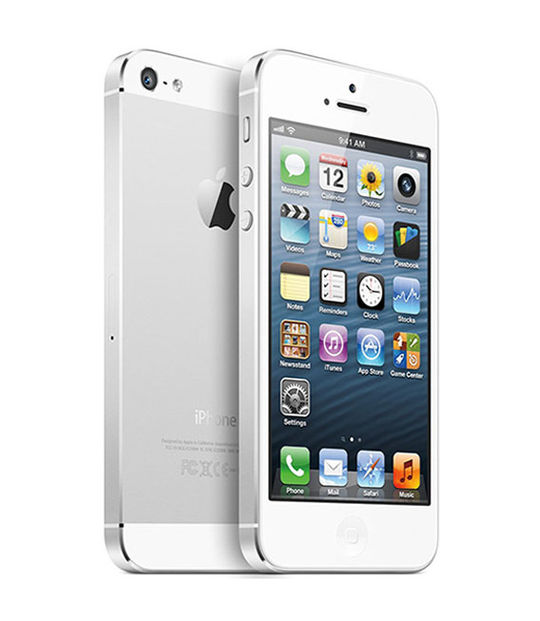 iPhone5 64GB(ホワイト&シルバー)
